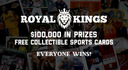 $100,000 In Prizes Plus Free Collectible Sports Cards