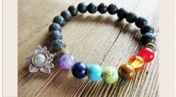 Win A Mindfulness Lava Stone And Lotus Chakra Bracelet