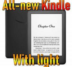 Win An All-New Kindle W/Front Light + Black Fabric Cover + Charger ($130 ARV)