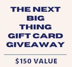 The Next Big Thing Podcast Giveaway ($150 Value)
