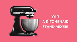 WIN A KitchenAid Classic Mixer