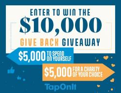 $5,000 For You, And $5,000 For The Charity Of Your Choice!