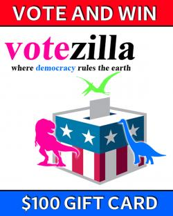 Vote And Win - $100 Amazon Gift Card