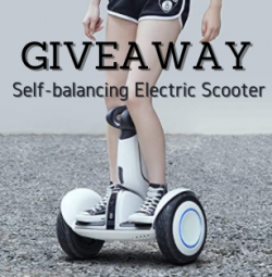 $699 Smart Self-balancing Electric Scooter Giveaway
