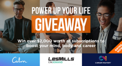 $2,000+ Power Up Your Life Giveaway