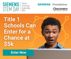 Siemens STEM Day Possibility Grant Sweepstakes