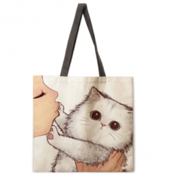 Cat Tote Bags! (3 WINNERS)
