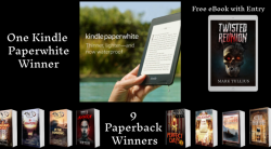 Win A Kindle Paperwhite And Paperbacks With A Free Horror EBook For Every Entrant