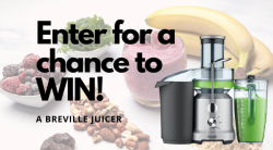 WIN A Breville Juicer! (The Juice Fountain Cold-Juicer)