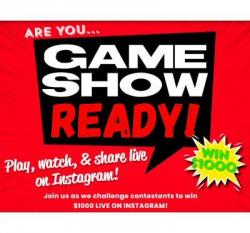 Win $1,000 On Game Show Ready!