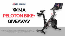 123 Office Win A Peloton Giveaway