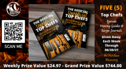 Top Chefs Episode Guide & Recipe Journal Giveaway