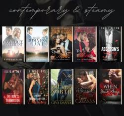 10 Book Steamy Romance Giveaway