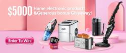 $5,000 Home Electronic Appliances