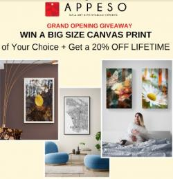 Appeso Wall Art Experts - Grand Opening Giveaway