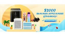 $2,000 In Summer Home Appliances