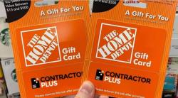 Two Chances To Win A $500 Home Depot Or Lowe's Gift Card!