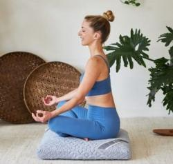 Enter For A Chance To Win A Crystal Cove Square Meditation Cushion ($148 Value)!