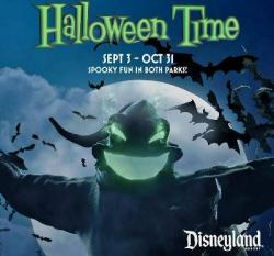 Disneyland Resort Halloween-Time Family 4-Pack Tickets Giveaway