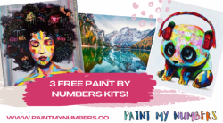 Win 3 Paint By Numbers Kits!