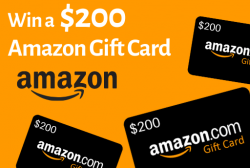 Win A $200 Amazon Gift Card For 2021