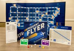 A Copy Of The New Frequent Flyer Board Game