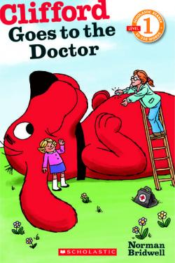 Clifford Goes To The Doctor Book And Amazon Gift Card