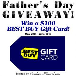 $100 Best Buy Father's Day Giveaway