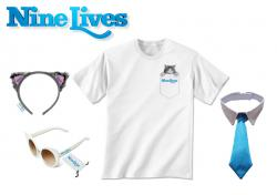 $25 Visa Gift Card And Nine Lives Prize Pack