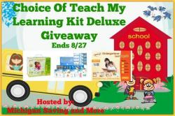 Teach My Learning Kit Deluxe Giveaway (8/27 US)