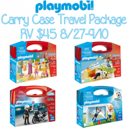 Playmobil Carry Case Travel Package Giveaway (9/10 US)