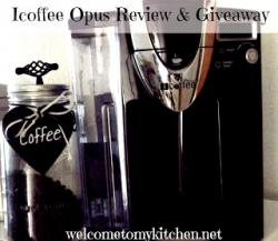 ICoffee Opus Single Serve Brewer Giveaway (9/29 US)