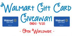 Free $100 Wall Mart Gift Card Giveaway