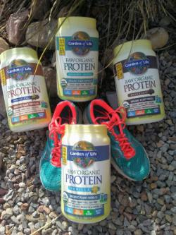 A Container Of  Garden Of Life Raw Organic Protein