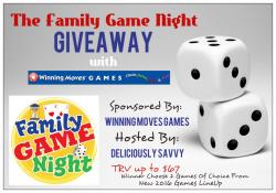 Family Game Night Giveaway (11/9 US)