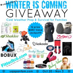 Winter Is Coming Giveaway For Families