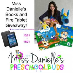 Miss Danielle's Books & Fire Tablet Giveaway