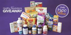 2017 Healthy Resolutions Giveaway